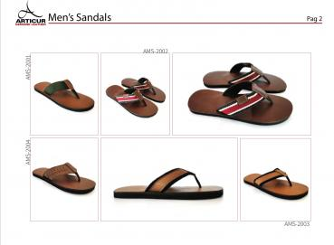 LEATHER sandals Image