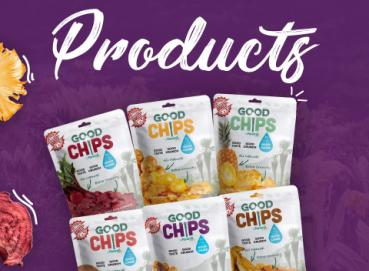 Fruits & Veggies Baked Chips with NO oil Image