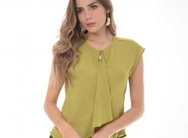 Women's Green blouse-1826 Image