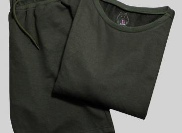 GREEN SHORT AND BUSO SET FOR WOMEN Image
