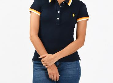Warne new navy polo shirt for women Image