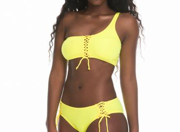 3442 Adjustable one shoulder bikini Image