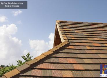 Clay roof tiles exclusiva line Image