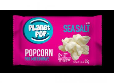Microwave Popcorn sea salt