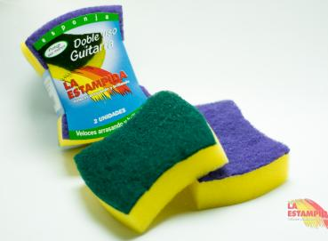 DOUBLE USE SCRUBBER SPONGES