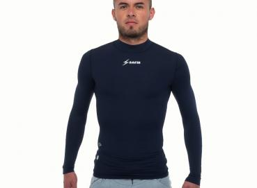 Mold Fit Long Sleeve Shirt Dark Blue Image