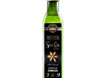 Sacha inchi Extra Virgin Oil Image