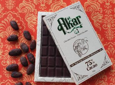 Akar dark chocolate 75% Image