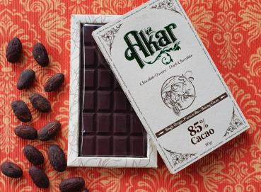 Akar dark chocolate 85% Image