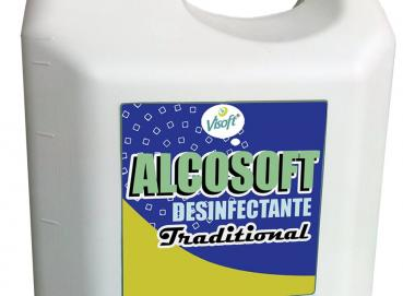 ALCOSOFT TRADITIONAL DISINFECTANT 70% Image