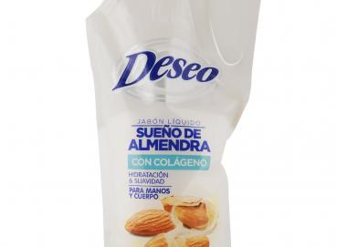 Deseo® Liquid Soap Almond Dream Doypack 1000ML Image