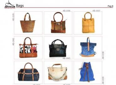 LEATHER bags Image
