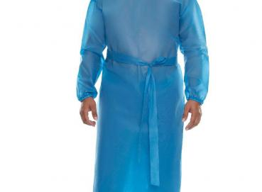 Disposable protective gown Image