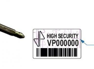 SECURITY SEAL TYPE BOTTLE VP63E Image