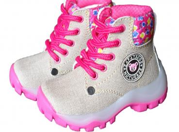 Tapitap Children's Boot Baby Girl Beige Image