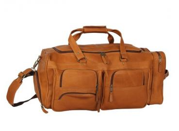 tula briefcase in leather travel bag Image