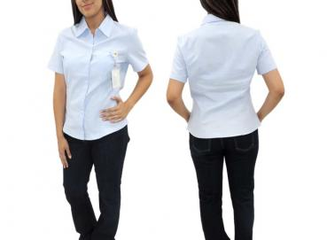 Women's Oxford Shirt Short Sleeve and Long Sleeve  Image