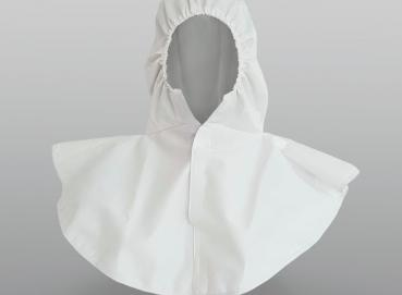 WATERPROOF PLUS HEAD AND NECK PROTECTIVE HOOD FOR MAXIMUM PROTECTION Image