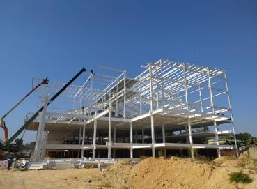 Steel structure building  Image