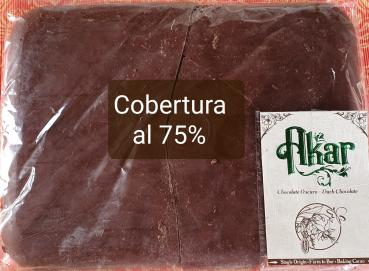 Dark chocolate Couverture 75% Image