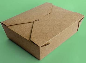 Cardboard food containers Image