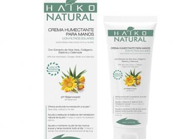 MOISTURIZING HAND CREAM, WITH UV FILTERS (80g) With Aloe Vera Extract, Collagen, Elastin and Calendula � Image