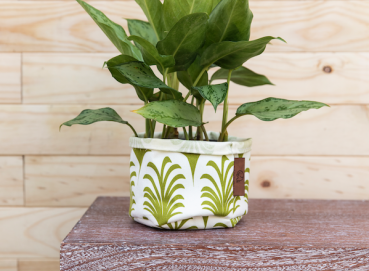 WATERPROOF PRINTED FABRIC PLANTERS Image