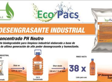 Industrial degreaser Ecopacs Image