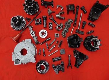 Manufacture of spare parts for heavy vehicle Image