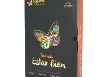 Case Herbal Teas Bags Estar Bien contains 12  Teas Bags Image