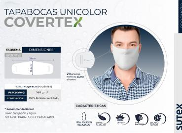 Solid color face masks Convertex Image