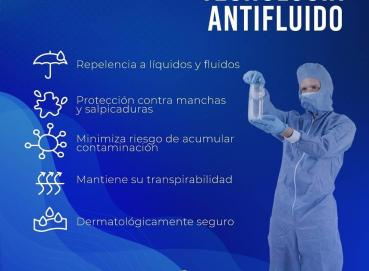 Protective or biosafety coverall Image
