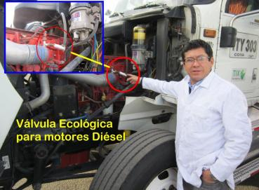 Ecological Valve for Diesel and Gasoline Engines Image