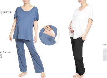 Maternity an nursing loungewear and nightwear Image