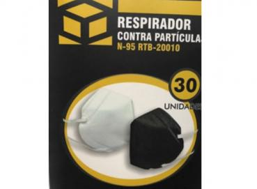 HEAT SEALED N95 TYPE PARTICLE RESPIRATOR MASK Image