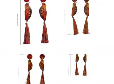 CANARIAN BRONZE EARRINGS Image