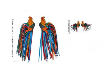 ROOSTER EARRINGS Image