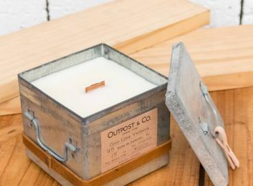 Candle - Metal box Image