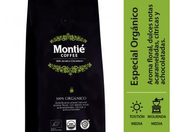 ORGANIC COFFEE - MONTIE COFFEE - SMALL SHIPMENTS FROM 24 UNITS Image
