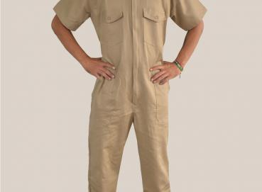 Short sleeve drill coverall Image