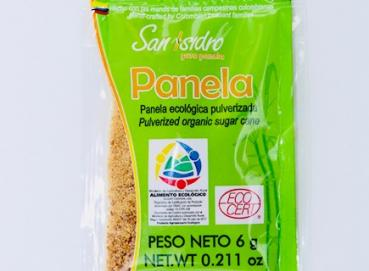 SAN ISIDRO SACHET OF 6 GRAMS OF PULVERIZED PANELA POWDER  Image