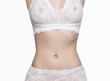 SCHERZO Piacere 2 Executive White Lingerie Set Image
