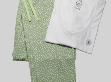 WOMAN'S PAJAMAS GREEN PANTS Image