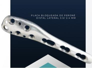 Peroné Distal Plate 2.4/3.5mm Image