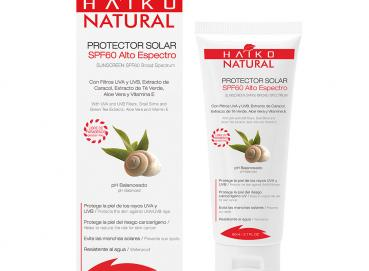 SUNSCREEN SPF60  (80g) With UVA and UVB Filters, Snail Slime and Green Tea Extracts, Aloe Vera and Vitamin E  � Image