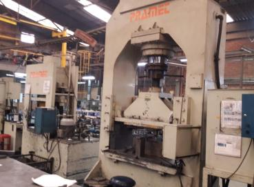 Punching and hydraulic presses. Image