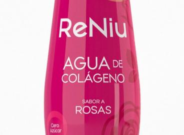 ReNiu Collagen Peptides Drink - Roses & Blueberry - 300ml Image