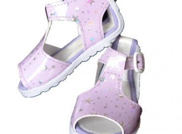 Baby Sandal Tapitap No Twist Star Lilac Girl Image