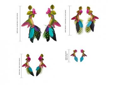 EARRINGS HUMMINGBIRD ANA Image