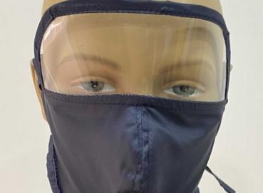 Face mask with triple fabric  Image